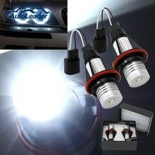 1 Year garantía alta potencia 7000 k 5 W ángulo liderada ojos Halo xenón marcador bombilla anillo de Canbus para BMW E39 E53 E60 E61 E65 X5