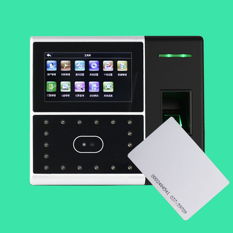 ZK Iface302 Fingerprint Time Attendance With Access Control TCP/IP Biometric Face & Fingerprint Time Attendance 125khz Rfid Card