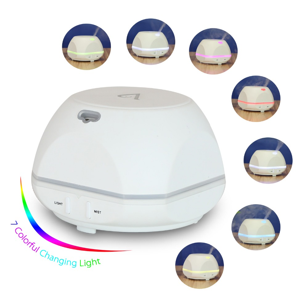 USB Aroma Essential Oil Diffuser Ultralyd Cool Mist - Husholdningsapparater - Foto 4