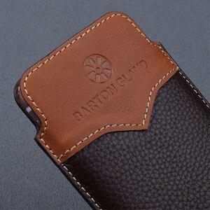 Image 3 - Pochette de conception originale pour Samsung Galaxy pli étui à la main de luxe en cuir de vache véritable sac de protection pour Samsung pli