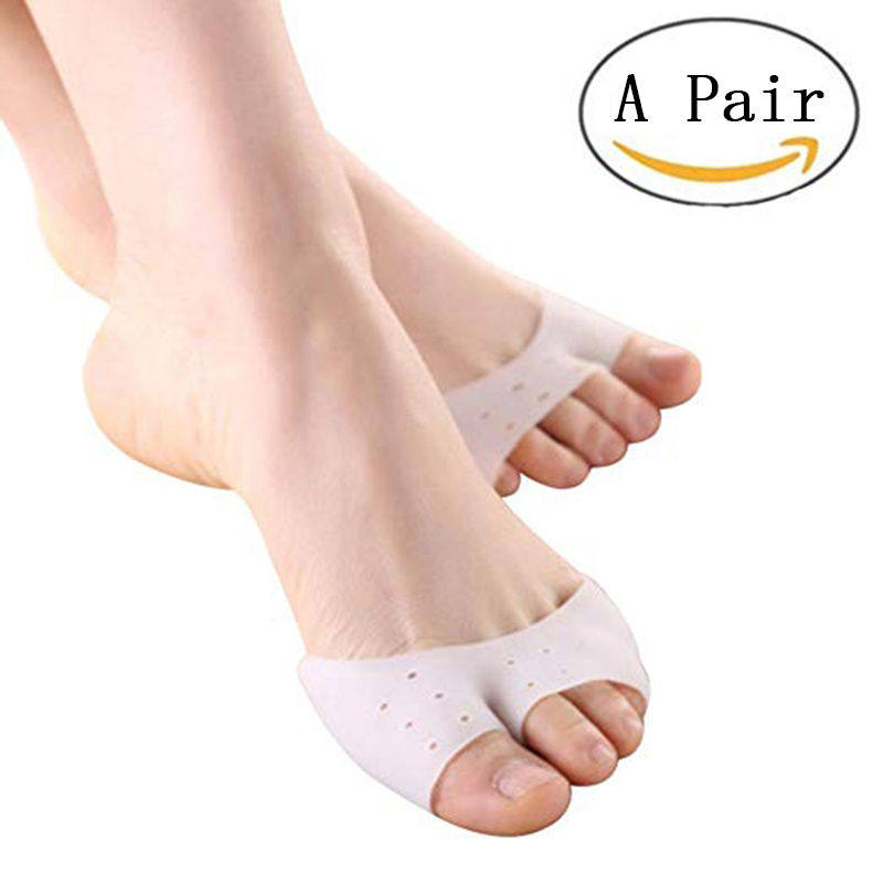 Full/Half Toe Sleeve Metatarsal Pads Ballet Shoe Protect High Heels Bunion Forefoot Cushioning Relief Diabetic Feet Men Women