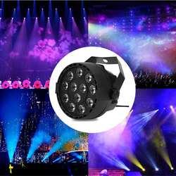 Par свет 12 светодиодный RGBW Освещение сцены DMX 512 для клуба диско вечерние бальные КТВ Бар Свадебные DJ Live шоу эффект освещения