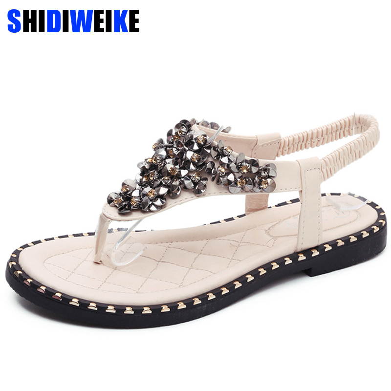 2019 Hot Spring Summer Shoes Bling Sandals Women Flats Heeled Shoes Sequins Gladiator Sandals Women Wedges sandalia femina m5712019 Hot Spring Summer Shoes Bling Sandals Women Flats Heeled Shoes Sequins Gladiator Sandals Women Wedges sandalia femina m571
