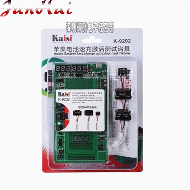 16-Piece Battery Fast Charge Activation Test Fixture For Apple iPhone iPad 3 4 Mini Air3 4 Circuit Current Testing Cable easy fast fixture fast fixture clamp bolt clamps y40371 40371