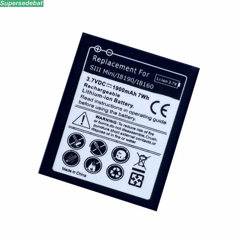 Battery for Samsung Galaxy S3 mini EB425161LU, Li-Ion I8190 ...