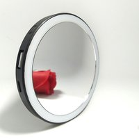 SF05 High Definition Portable Energy-saving LED Rechargeable High Brightness Long Life No Radiation LED Cosmetic Mirror