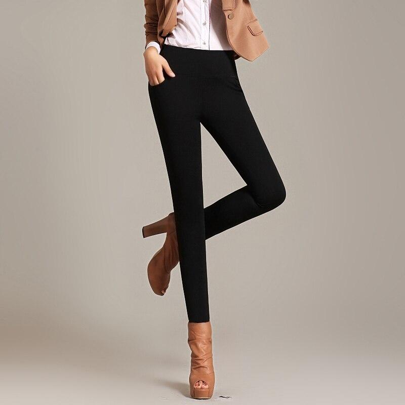 Jvzkass 2019 New Winter Plus Velvet Pants Women's New Thickening Leggings High Waist Large Size Feet Pants Z231