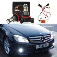 2X9006 HB4 H11 светодиодный фонарь лампа для автомобиля лампы для фар для Mercedes Benz B260 B200 GL63 SLK55 E400 E320 E260 E350 GLA200