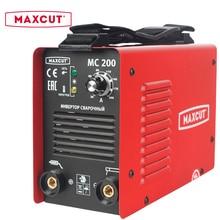 Аппарат сварочный инверторный MAXCUT MC200 (диапазон тока 20-200 А, мощность 5000 Вт, диаметр электрода 1,6 - 4 мм)