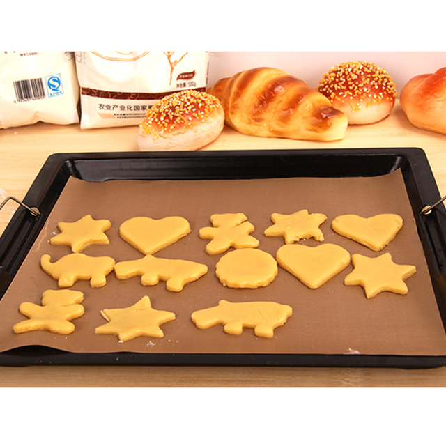 4pc Non Stick Baking Mat Bakeware Nonstick Sheet For Pastry Heat Resistance Cooking Pad