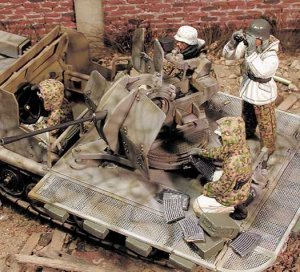 1/35 flak crew just include 4 soldiers Historical toy Resin Model Miniature Kit unassembly Unpainted фото
