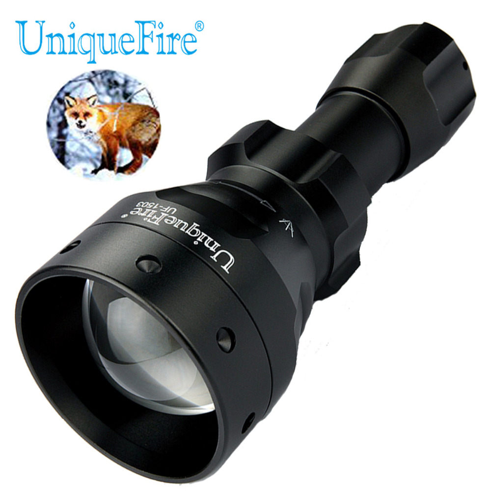 UniqueFire 1503 XML T6 or L2 Mini Adjustable Flashlight Zoomable 50mm Lens LED Tactical Torch For