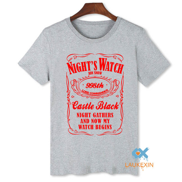 Game of Thrones Nights Watch T-Shirt