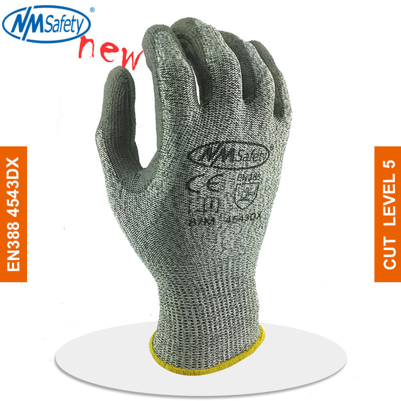 NMSafety Cut Resistant Work Glove Cutproof Handing With HPPE Anti Cut Safety Work Glove