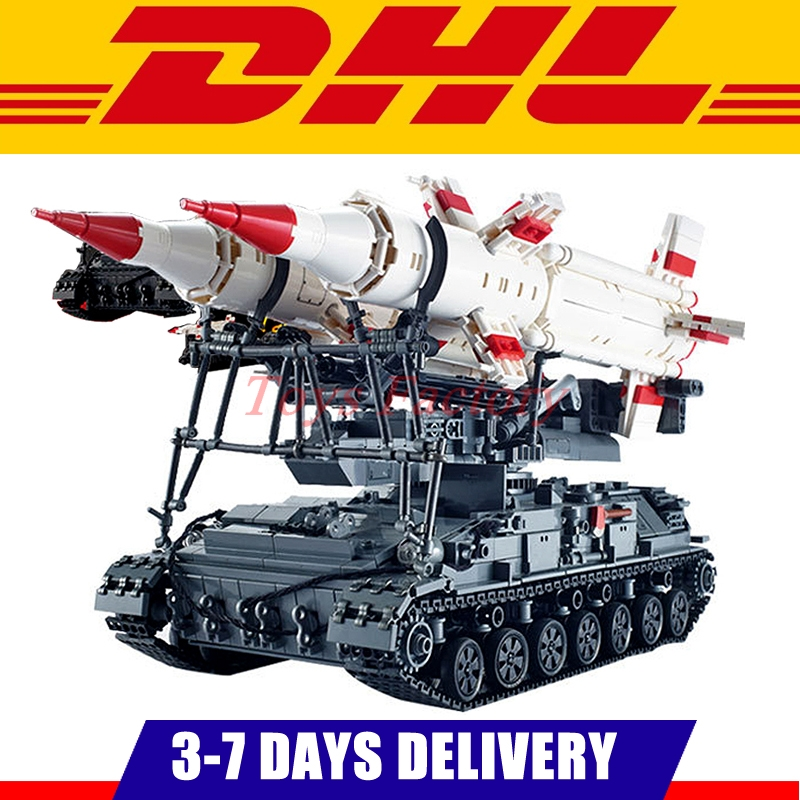 DHL Xingbao 06007 1469Pcs Military Series The SA-4 Ganef Set Building Blocks Bricks Children Educational Boy`s Toys Model Gifts hot sale beads