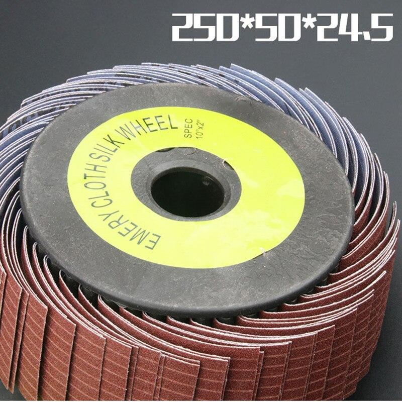Abrasive Cloth Wheel Sandpaper Grinding Metal Polishing Rotary Buffing Tool Cepillo De Pulido
