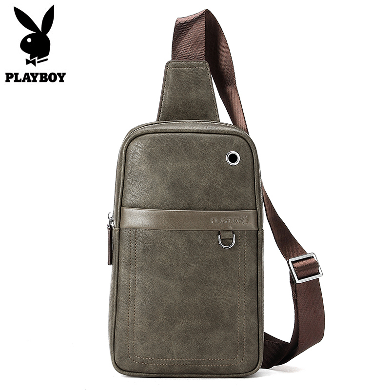 Leather Men's Crossbody Bag High Quality Single Shoulder Chest Sling Pack Bag Leisure Messenger Crossbody Chest Bag for Men jason tutu promotions men shoulder bags leisure travel black small bag crossbody messenger bag men leather high quality b206