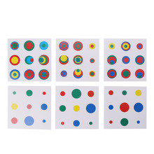 Kids Montessori Early Learning Toys Childhood Colors Fast Memory Education Matching Card Baby Educational Toys screw and nut toys montessori teaching aids early childhood intelligence educational toys kids learning