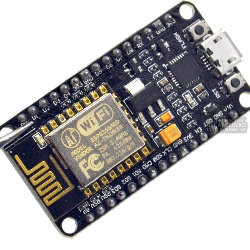 Wireless module NodeMcu Lua WIFI Internet of Things development board based ESP8266 CP2102 with pcb Antenna and usb