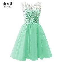 New Baby Girls Dress 4 6 8 9 10 12 to 14 Year Girls Green Lace Chiffon Dress Princess Party Dresses Knee High Kids Clothing 1P17