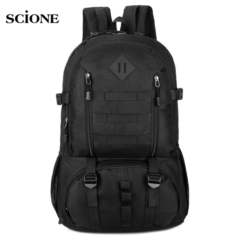 Tactical Backpack Men Military Camouflage Molle Backpacks Waterproof Mountaineer Hiking Hunting Outdoor Sports Rucksack XA1472A