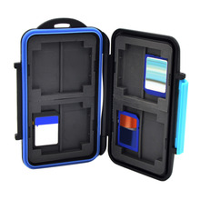 High Quality Memory Card Case Holder for 8 x SD SDHC Cards MC-SD8 Waterproof Anti-shock Drop Shipping Wholesale