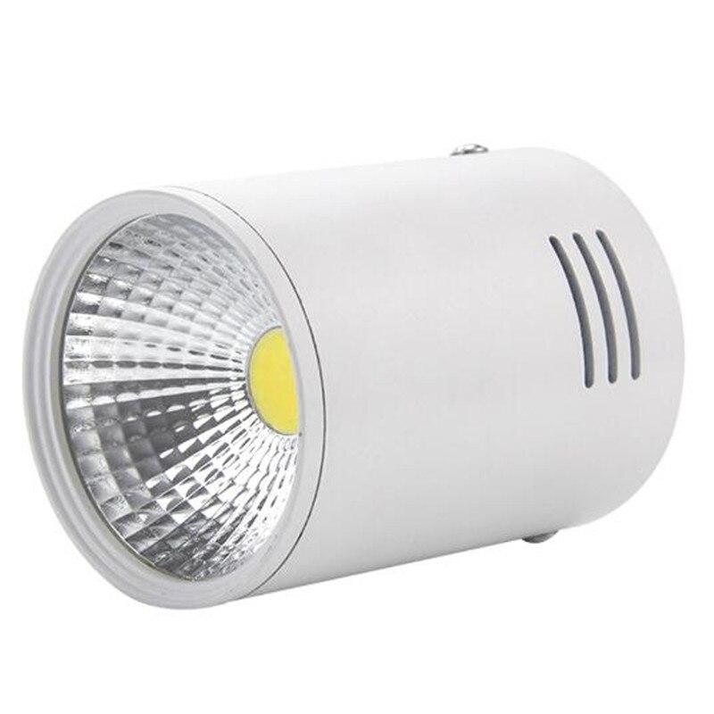 Лидер продаж 20 Вт светодиодный свет вниз 12 Вт 20 Вт поверхностного монтажа встраиваемые высокой яркости COB светильник, ce & rohs сертификат AC85-265V