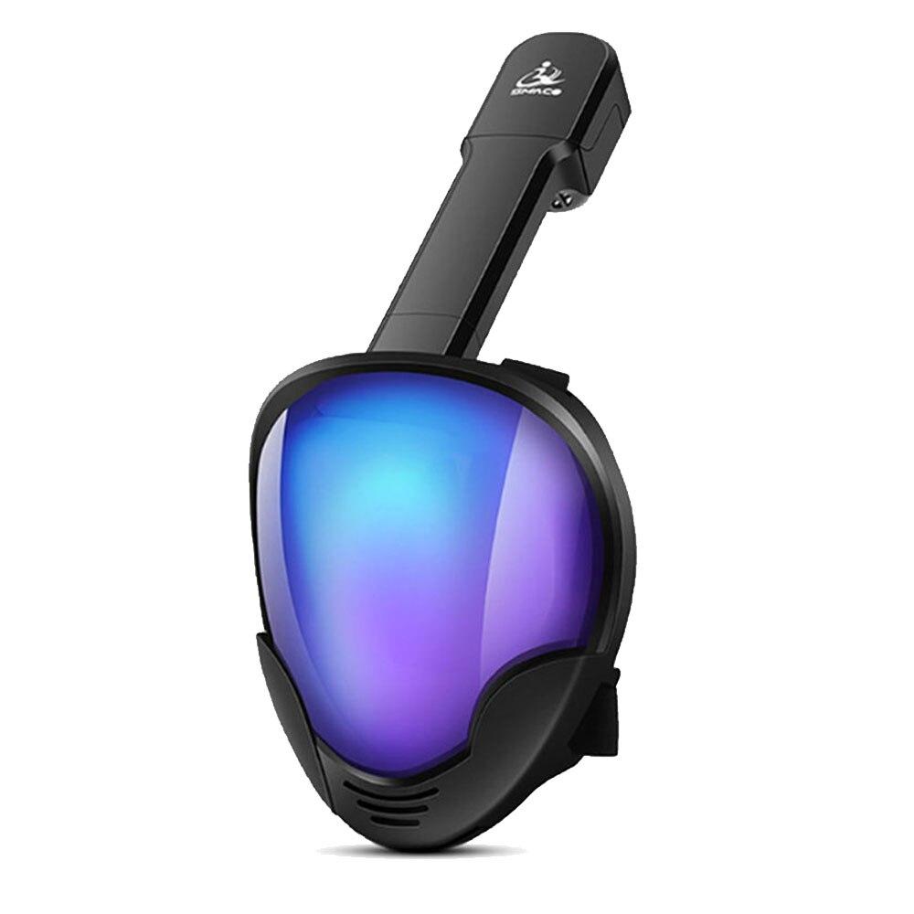 2019 NOVO Rosto Cheio Conjunto Máscara de Mergulho Mergulho Scuba Máscara de Mergulho de Mergulho de Treinamento De Natação Subaquática Para Gopro Camera