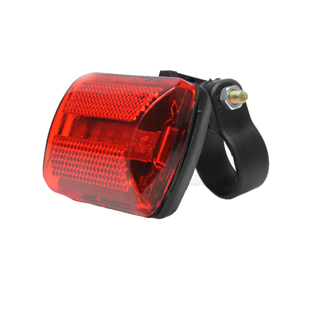 2019 Wholesale Durable Plastic and Metal Screws 5 LED Rear Tail Frame MTB Road Bike Bicycle Back Red Light Cycling Parts