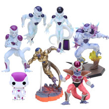 Dragon Ball Z Frieza Ressurreição F Ouro Freezer DXF figura toy modelo Figura de Ação Freeza DRAGON BALL Z Estatueta crianças presente(China)