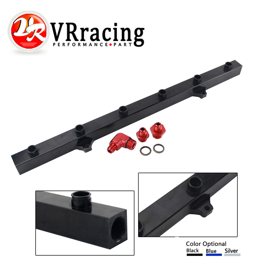 VR RACING - High Quality New Fuel Rail For BMW E36 E46 fuel rail kit VR5474 racing new oil cap engine cover fuel for mitsubishi evo