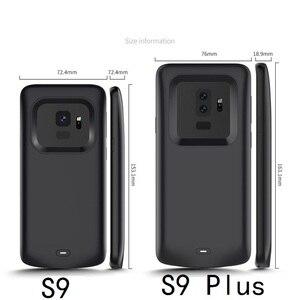 Image 5 - 耐衝撃のため銀河S9 S8 プラス注 9 外部ポータブル充電器充電ケース
