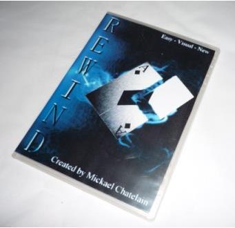 Envío gratis Rewind ( DVD y truco ) - tarjeta de trucos de magia, objetos mágicos, mentalismo, magia de cerca, ilusiones, accesorios