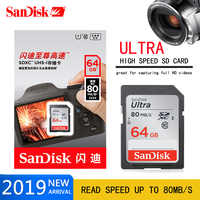 Carte mémoire SanDisk carte SD 64 GB 32 GB 128 GB Class10 haute vitesse 16 gb carte sd SDHC cartao de memoria carte sd tarjeta pour appareil photo