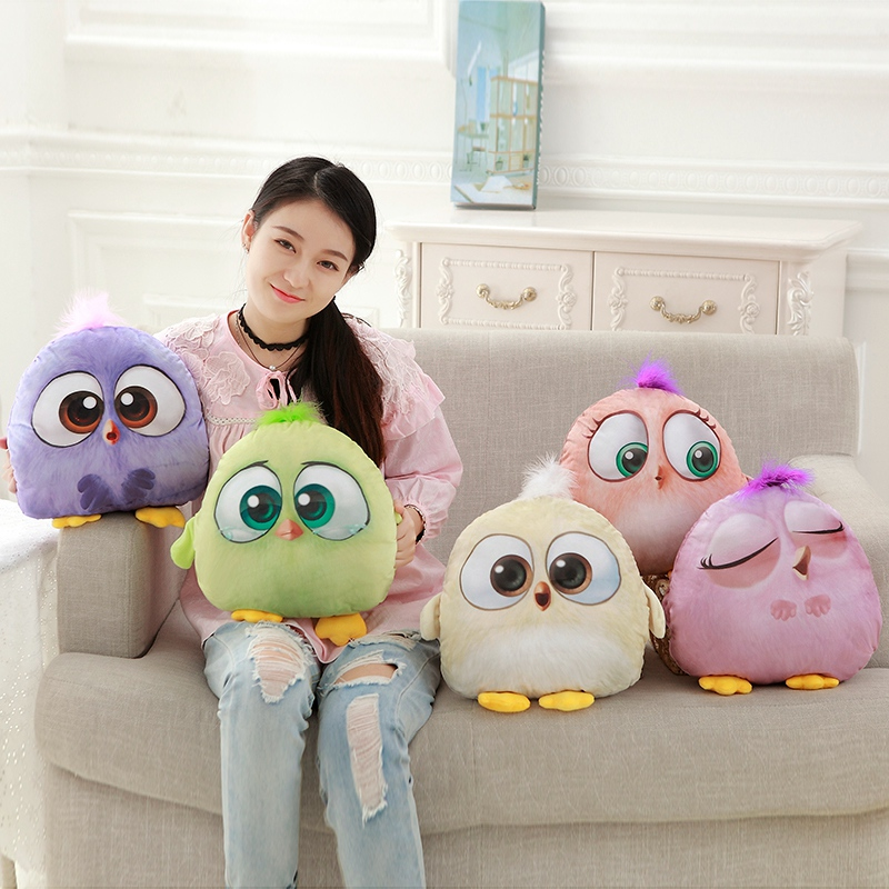 1pc 35cm New Creative 3D Cartoon Lovely Animal Birds Stuffed Plush Warm Hands Pillow Toys Dolls For kids gift Super Soft Cushion cartoon movie teddy bear ted plush toys soft stuffed animal dolls classic toy 45cm 18 kids gift