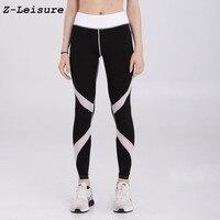 Femmes Yoga Pantalon Top Qualité Haute Élastique Taille Exercice Pantalon Stretch Tissu Sport Skinny Leggings YG1807