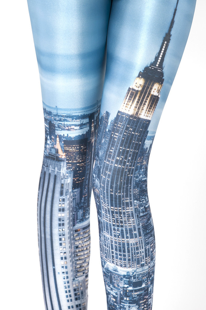 2014 New spring summer for womens black milk fashion sexy girls skyscrapers galaxy tights pencil disco pants wholesale