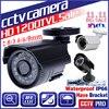 Read HD 1 4cmos 1200TVL Indoor Mini Home Dome Camera 24leds IR Cut Security Surveillance Infrared