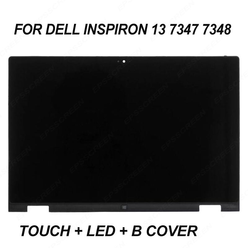 Ersetzen Für Dell Inspiron 13 7347 7348 P57g Monitor Touch Digitizer-panel + Rahmen Lünette + Led Lcd Screen B Abdeckung Montage Display Elegante Form