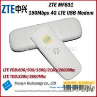 New Arrival Original Unlock 150Mbps ZTE MF831 4G LTE USB Modem Support LTE FDD B1 B3