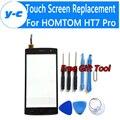 HOMTOM HT7 ProTouch Tela 100% Novo Digitador Da Tela de Substituição Do Painel de Vidro Para HOMTOM HT7 Pro Telefone