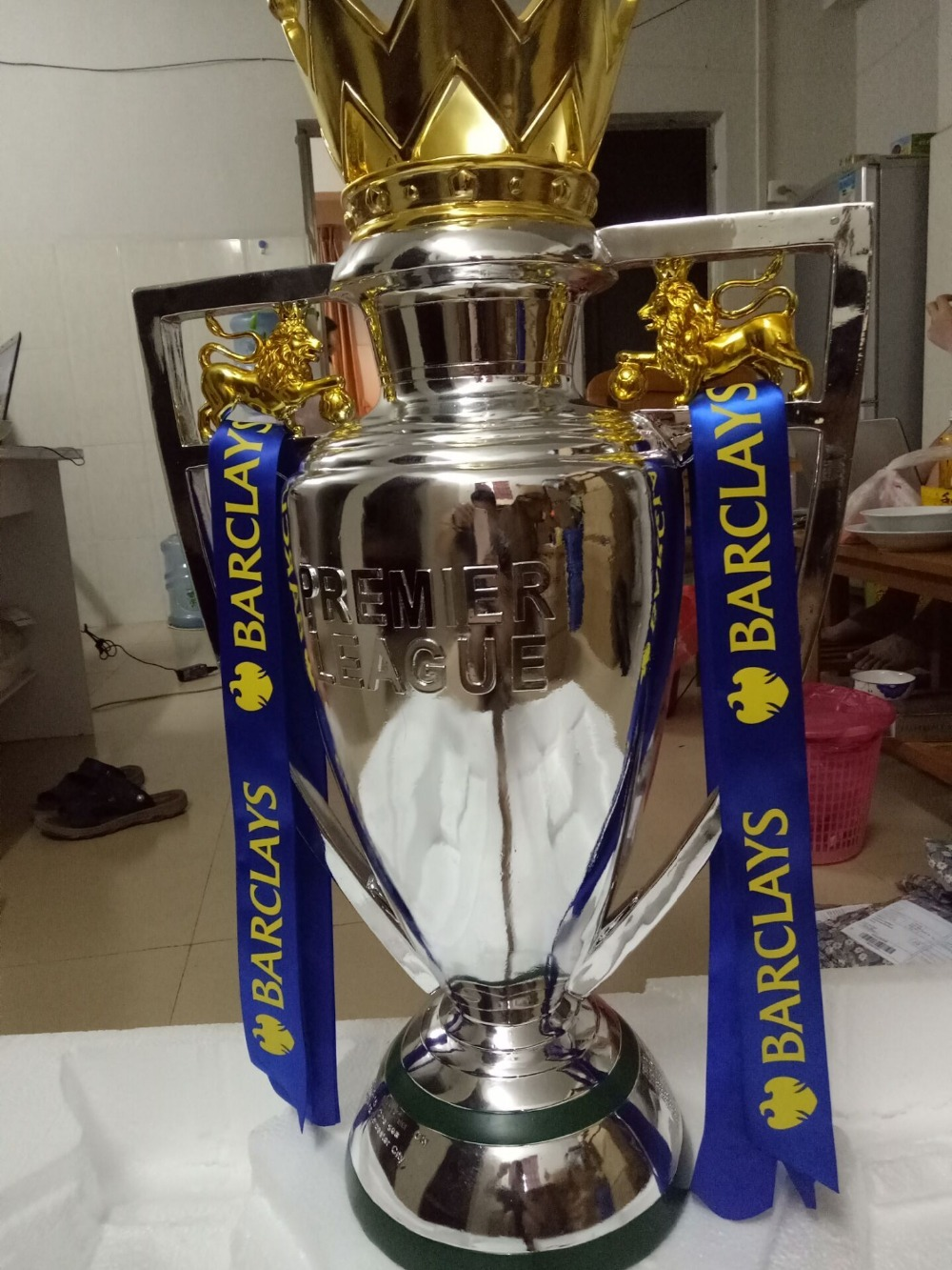 king size 77 cm Resin English fa Premiership trophy premier league trophy Football Fans Souvenirs Premier League charles perrault kuldjuustega kaunitar