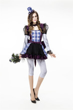126 Buy 1 get 3 free steampunk Lolita gothic victorian  one piece cosplay skirt suit