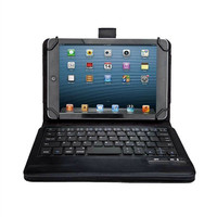 Universal Dechatable Bluetooth Keyboard & PU Case Cover With Stand For Samsung Galaxy Tab A 8.0 T380 T385 2017 8 inch