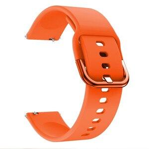Image 3 - Silikon saat kayışı Kayışı Garmin Vivoactive 3 Müzik/Forerunner 645 245 245M akıllı bilezik Spor Watchband Correa Bant
