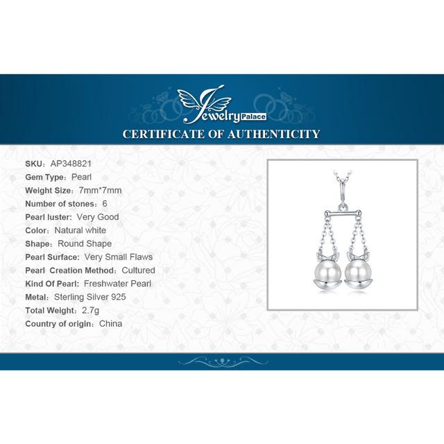 Libra Sign Pearl Pendant