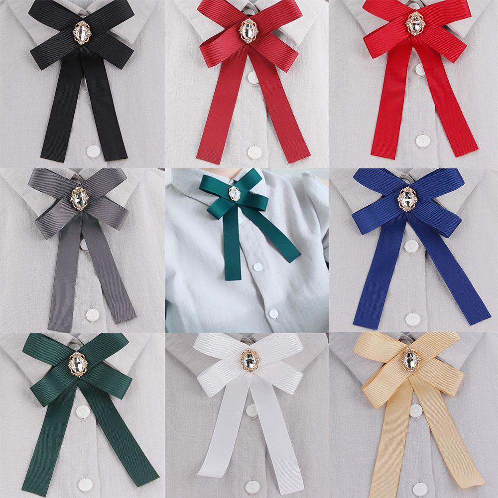 Модные DIY тканевые Броши «бант» для женщин, булавки для галстука на шею, вечерние, свадебные, Большая лента, брошь, ювелирные изделия, аксессуары для одежды