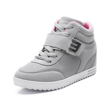 ผู้หญิงรองเท้า6เซนติเมตรความสูงที่เพิ่มขึ้นรองเท้าผู้หญิงรองเท้าลำลองผู้หญิงฤดูใบไม้ร่วงฤดูหนาวสูงด้านบนผู้หญิงZ Apatos Mujerขนาด35-39