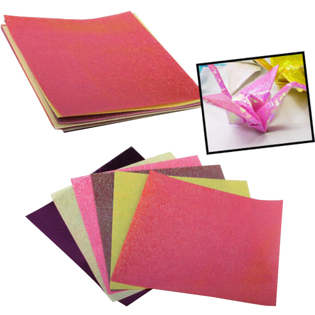 Double sided craft paper - 10pcs Lot Origami Square Hand Paper Double Sided Coloured Craft Diy Colorful Scrapbooking New 12cmx12cm