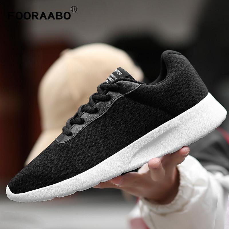 0e1d9978 Новинка 2019 года, Весенняя мужская повседневная обувь, дышащая летняя  модная мужская обувь из сетчатого материала в лондонском стиле, удобна.